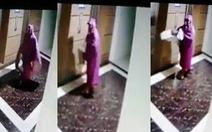 Bắt nghi phạm ném phân bò vào nhà nữ phóng viên
