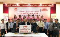 Acecook Việt Nam ký kết hợp đồng tài trợ Festival Huế 2018
