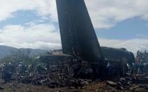 Video máy bay quân sự rơi tại Algeria, 257 người thiệt mạng