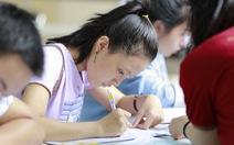 Thí sinh tự do cần giấy tờ nào để đăng ký dự thi?