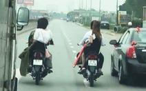 Triệu tập nhóm rước dâu 'đầu trần', chặn ôtô trên quốc lộ