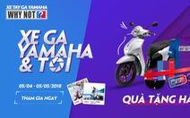 """""""Xe ga Yamaha & Tôi"""" thu hút sao Việt và giới trẻ"""