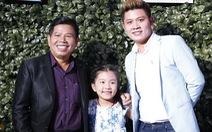 Nguyễn Văn Chung lần đầu đưa con lên sân khấu thi hát