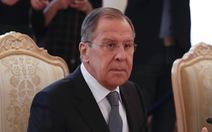 Ngoại trưởng Nga tố tình báo nước ngoài dựng vụ Douma