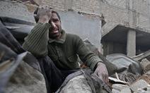 Ở trong cuộc không kích tại Syria