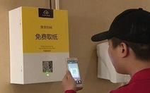 Trung Quốc bắt nhận diện mặt mới được cấp miếng giấy đi vệ sinh