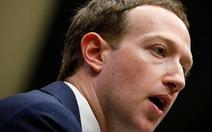 EU nhắc lại yêu cầu triệu tập ông chủ Facebook tới điều trần