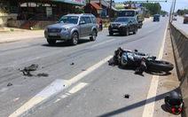 Va chạm với xe tải, tay chơi môtô phân khối lớn thiệt mạng