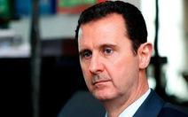 """""""Buổi sáng kiên cường"""" của Tổng thống Syria sau không kích"""