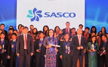 SASCO đạt Top 10 Doanh nghiệp Thương hiệu mạnh Việt Nam