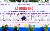 Cao tốc Bắc Giang - Lạng Sơn 12 ngàn tỉ lại có nguy cơ vỡ tiến độ