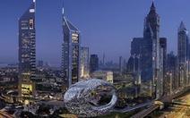 Bảo tàng như của người ngoài hành tinh do người trái đất làm ra ở Dubai