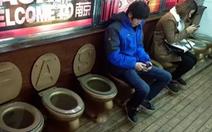 Nhật chìa tay giúp Trung Quốc làm 'cách mạng nhà vệ sinh'