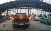 Trạm BOT phải mở barie giải tỏa xe khi xảy ra ùn tắc