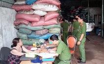Nhiều tấn sản phẩm từ lò cà phê trộn pin đã ra thị trường