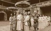 Độc đáo bộ ảnh kỷ yếu Hoàng cung của sinh viên Huế