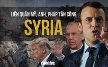 Nhìn lại cuộc tấn công Syria của liên quân Mỹ, Anh, Pháp