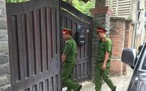Toàn cảnh công an khám nhà 2 cựu chủ tịch UBND TP Đà Nẵng