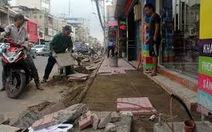 Cấm xe đường Nguyễn Huệ và ngưng đào đường dịp lễ 30-4