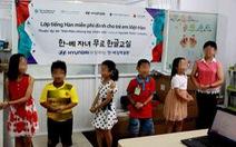 Mở lớp tiếng Việt cho con em gia đình Việt-Hàn tại Hàn Quốc