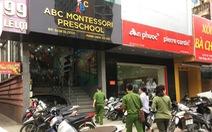Công an điều tra clip cô giáo đánh trẻ mầm non ở Nghệ An
