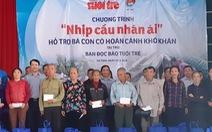 Nhịp cầu Nhân ái đến với dân nghèo Hà Tĩnh