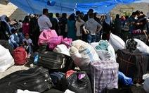 Hàng ngàn người tị nạn Syria bị trục xuất khỏi Libăng