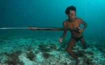 Người bơi lặn như rái là có thật?
