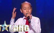Cậu bé gốc Việt được Tìm kiếm tài năng nhí Thụy Điển gọi tên là ai?