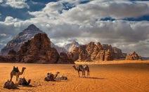 Lạc vào thung lũng mặt trăng ở Jordan