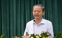 Ông Lê Văn Khoa đã 2 lần tai biến