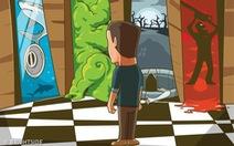 Đố vui nổ não: Làm sao để người đàn ông thoát khỏi nhà hoang?