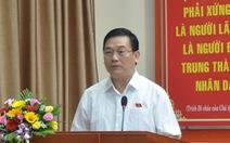 Cử tri đề nghị điều tra vụ việc giám đốc Công an Đà Nẵng
