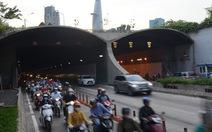 Phân luồng khu vực đường hầm sông Sài Gòn để bắn pháo hoa