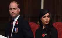 Hoàng tử William mắt thâm quầng sau khi có con thứ 3