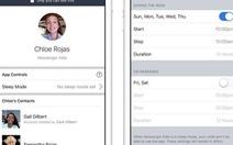 Facebook có thêm nút 'đi ngủ' cho ứng dụng Messenger Kids
