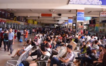 Bến xe Miền Đông 'cháy' vé xe khách Tết dương lịch 2019