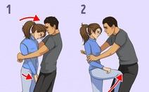 7 chiêu tự vệ đơn giản cho các nàng khỏi yêu râu xanh