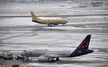Nguy cơ hoãn một nửa chuyến bay châu Âu vì sự cố máy tính