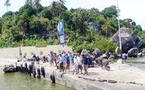 Huyện đảo Kiên Hải kiểm tra hành chính nhóm người truyền đạo 'lạ'
