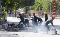 Đánh bom kép ở Kabul, 21 người chết, trong đó có 4 nhà báo