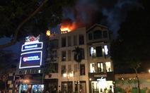 Cháy shop quần áo tại Hà Nội