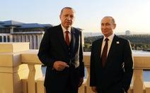Tổng thống Thổ Nhĩ Kỳ 'giành người đẹp' với ông Putin