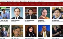 Hai nhà khoa học Việt vào danh sách 100 nhà khoa học hàng đầu châu Á