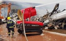 Nhờ Trung Quốc hỗ trợ chữa cháy tại KCN ở Quảng Ninh