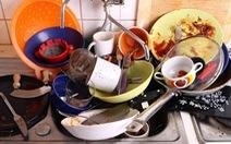 Rửa bát là thủ phạm khiến gia đình tan nát