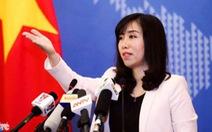 """Bộ Ngoại giao: Việt Nam không có cái gọi là """"tù nhân lương tâm"""""""