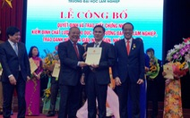Lào muốn Việt Nam tư vấn về việc xét duyệt GS, PGS