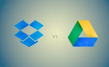 So sánh 2 ứng dụng lưu trữ đám mây phổ biến: Google và Dropbox