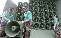 Triều Tiên cũng bắt đầu tháo dỡ loa phóng thanh ở biên giới